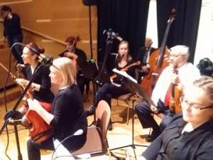 KCO-viuluniekat ja sello Paimiosalissa 24.11.-16